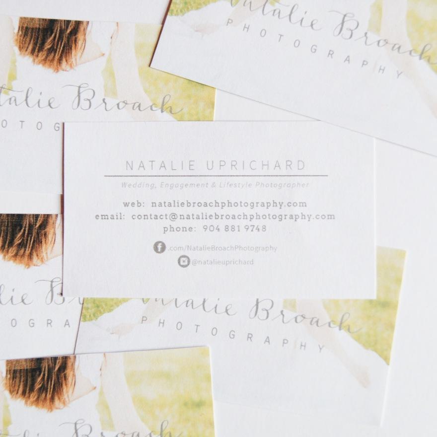 Business Card | Natalie Broach Photography