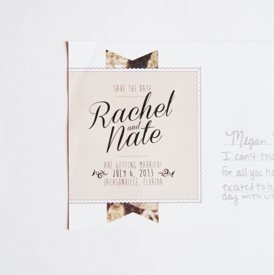 Save the Date | Rachel + Nate Jacksonville Wedding
