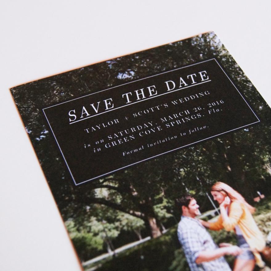 Save the Date | Taylor + Scott, St. Augustine Wedding